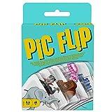 Mattel Games - GKD70 Pic Flip Kartenspiel und Gesellschaftsspiel, geeignet für 2 - 6 Spieler, Kartenspiele ab 7 Jahren
