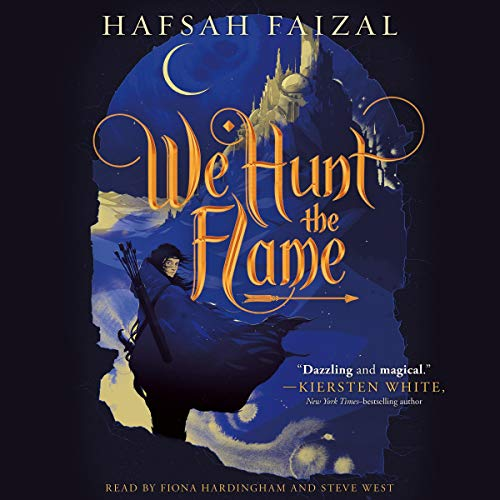 We Hunt the Flame     Sands of Arawiya, Book 1              De :                                                                                                                                 Hafsah Faizal                               Lu par :                                                                                                                                 Fiona Hardingham,                                                                                        Steve West                      Durée : 14 h et 45 min     Pas de notations     Global 0,0