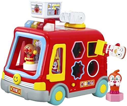 Anpanman NEW play full fire truck (japan import)