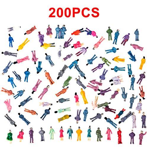 Spieland - Figuren für Modelleisenbahnen in Mehrfarbig, Größe ca.1-1,2cm