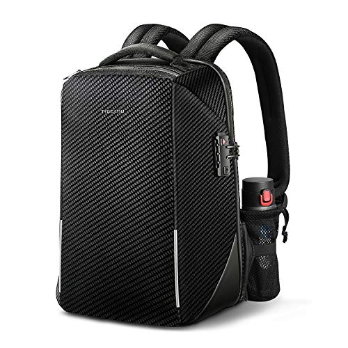Lowest Price! Anti-theft Laptop Backpack, Fintie TSA Friendly Lock Water Resistant Rucksack with RFI...