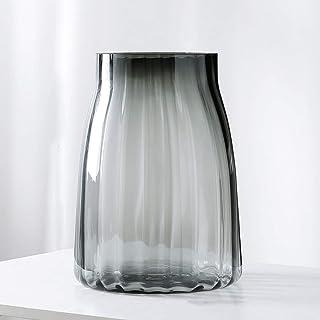 LI MING SHOP L-H Transparentes De Cristal del Florero Decoración De La Mesa Adornos Sala Comedor Hidropónico FlorRamos D...