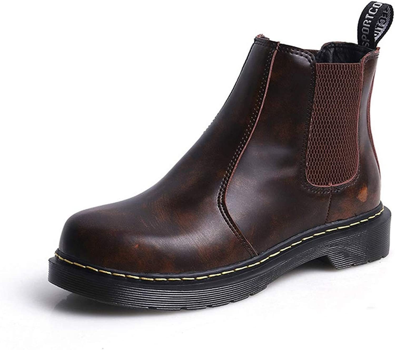 Winter kvinnor Ankle Boot Low Heel Round Toe Slip Slip Slip On mode kort stövlar British Style Warm Casaul skor  billigare priser
