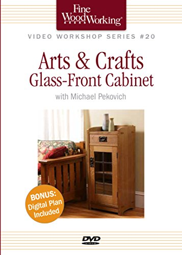 Arts & Crafts Glass-Front Cabinet [DVD] [Import]