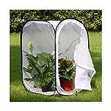 WWZL Piantina Incubatrice Trasparente Rete per Allevamento Orticoltura Gabbia per Insetti la Pianta Pop-Up Coltiva la Tenda per Giardinaggio Domestico, Orto da Balcone