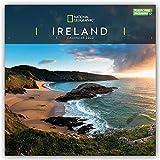 National Geographic Ireland 2022 - Calendario da parete, 30,5 x 30,5 cm, confezione gratuita