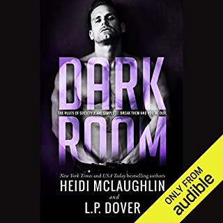 Dark Room audiobook cover art