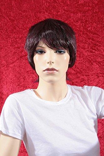 Wigs Women Short Aubergine (perruque)