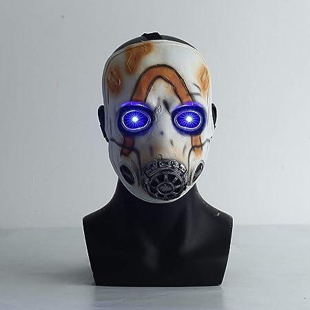 Gaya Borderlands 3 Vinyl Mask Psycho Standard Bianco
