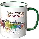 WANDKINGS® Tasse, Schriftzug Guten Morgen Hannover! mit