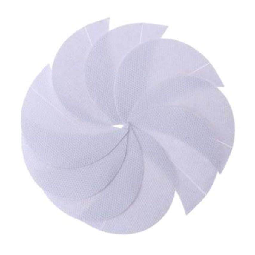 慢光沢魅力Rabugogo 100個/袋不織布アイシャドーシールドアイシャドージェルパッドパッチアイシャドーステンシル防止まつげエクステ化粧品残留物