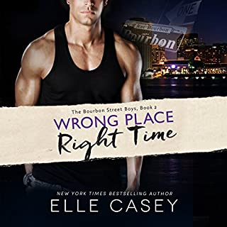 Wrong Place, Right Time     The Bourbon Street Boys, Book 2              Auteur(s):                                                                                                                                 Elle Casey                               Narrateur(s):                                                                                                                                 Elizabeth Godley                      Durée: 12 h et 57 min     1 évaluation     Au global 5,0