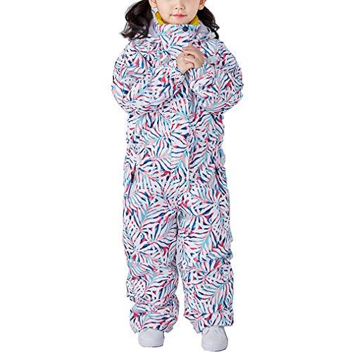 Jumpsuit voor meisjes, één stuk skipak, winter en buiten, waterdicht sneeuwpak, overalls voor sneeuwsport, 2019 nieuwe ski-jas en broekset