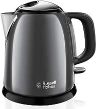 Russell Hobbs Colours Plus+ Mini Waterkoker, Roestvrijstaal, 1 Liter, Anti-kalkfilter, Compact, Snel, Energiebesparend, 24...