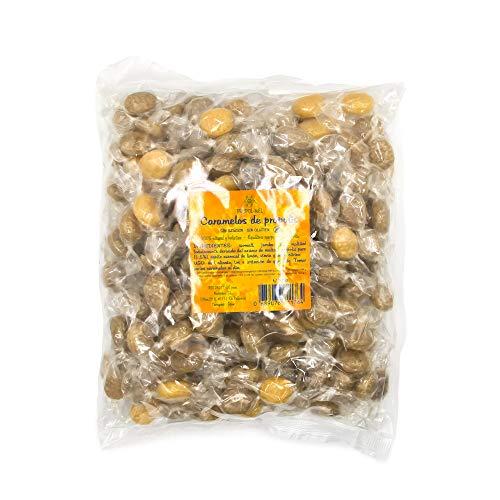 500 g - Caramelos de Propoleo Sin gluten y Sin azucar. Elaborado con propolis puro finamente troceado. Recomendado para el mal aliento, el aparato bucal y la garganta.