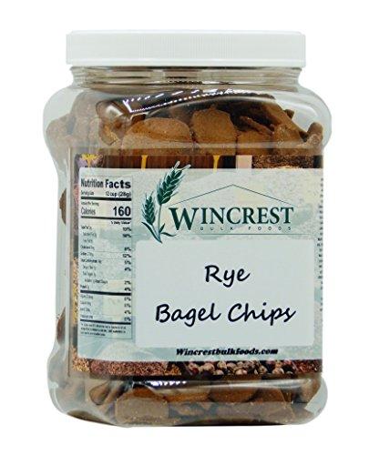 Rye Bagel Chips - 1 Lb Tub