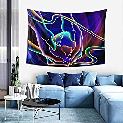 Neon Lights Tapestry