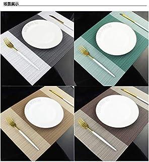 DMFU ランチョンマット 和風 家に楽で高級なレストラン雰囲気に!プレースマット 撥水 防汚 断熱 丸洗い上品テーブルランチマット 4枚セット