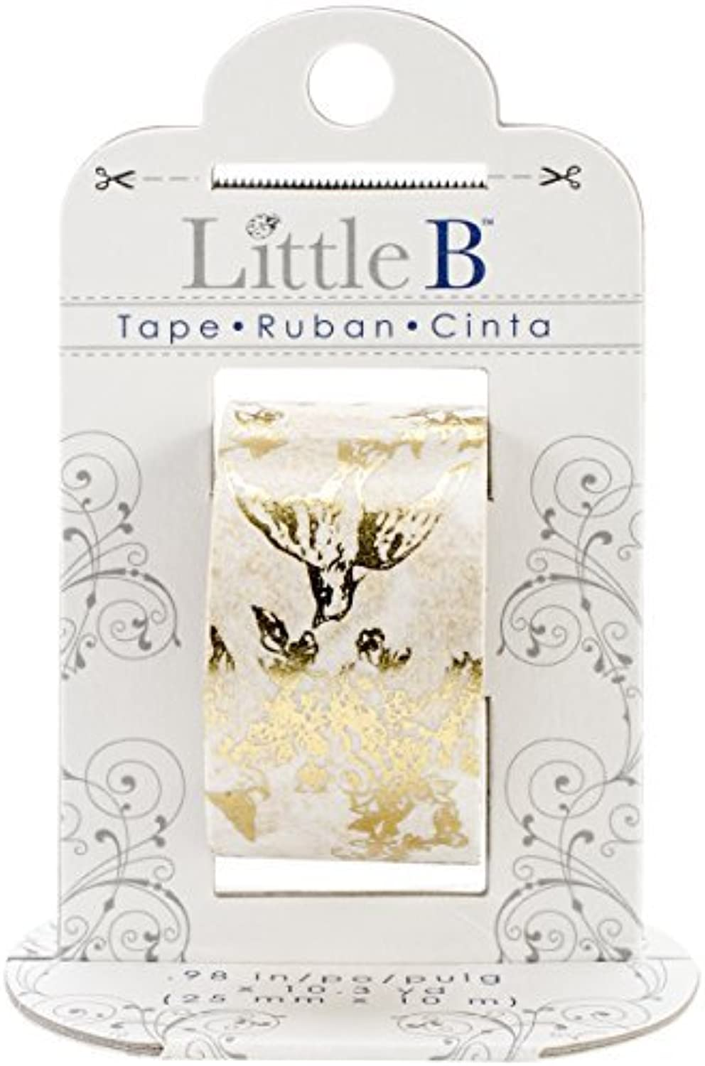 Little Little Little B 100443 Decorative Foil Paper Tape, Gold Toile by Little B B01KB6Y2JC | Preiszugeständnisse