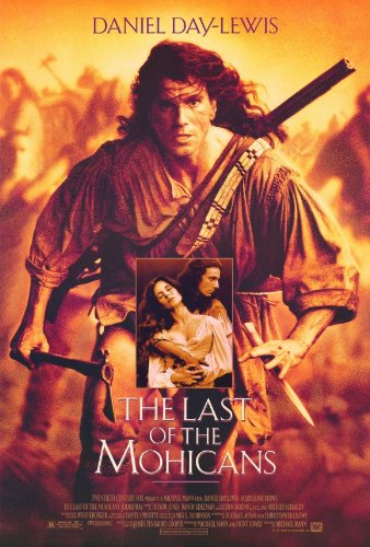 The Last of the Mohicans Movie POSTER 27x40