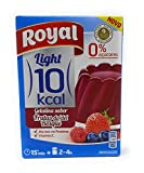Royal - Gelatina Frutas del Bosque - Light - por 1 litro de aqua