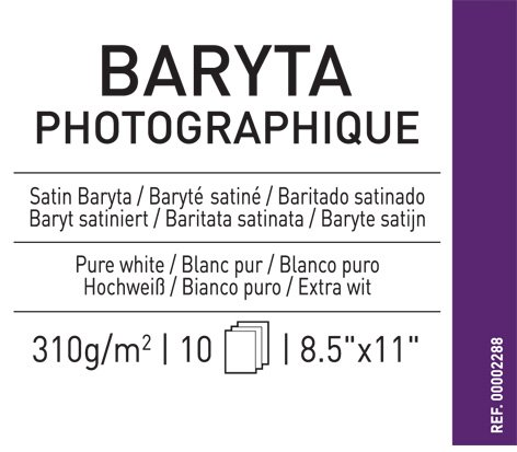 Infinity Baryta Photo 310G 8.5X11 10/Sheets