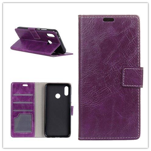 Funda® Flip Portefeuille Coque pour ASUS Zenfone 5 ZE620KL/Asus Zenfone 5z ZS620KL (Violet)
