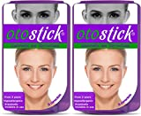Otostick - TWIN PACK - Instant Correction for Prominent Ears (ENGLISH VERSION )- - Best Alternative Short of Surgery -