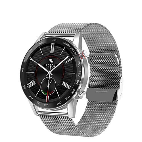 LLM DT95 Smartwatch Hombres IP68 Impermeable Llamada Bluetooth 360 * 360 ECG Frecuencia cardíaca Monitoreo de la presión Arterial 1.3 Pulgadas TFT Reloj Inteligente con Pantalla de sueño(F)