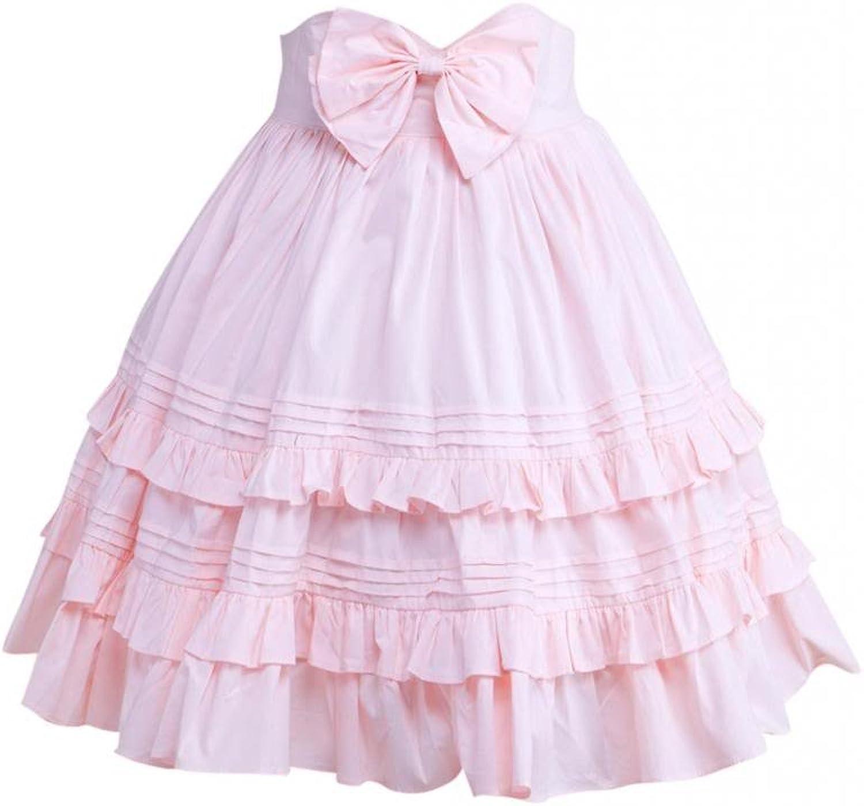 Hugme Cotton Ruffles & Bow Lolita Skirt