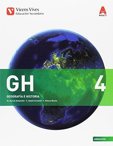 GH 4 ANDALUCIA (HISTORIA) ESO AULA 3D: 000001 - 9788468236629