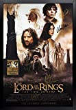 Lord of the Rings: The Two Towers Signed Movie Poster Framed and Ready to Hang, Collectible, Memorabilia, Autographs, Signatures