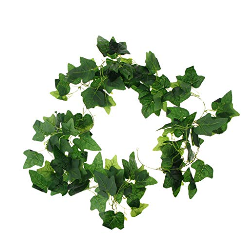 B Baosity 79 Inch Artificial Ivy Leaves Greenery Hanging for Wedding Garden Wall Decor