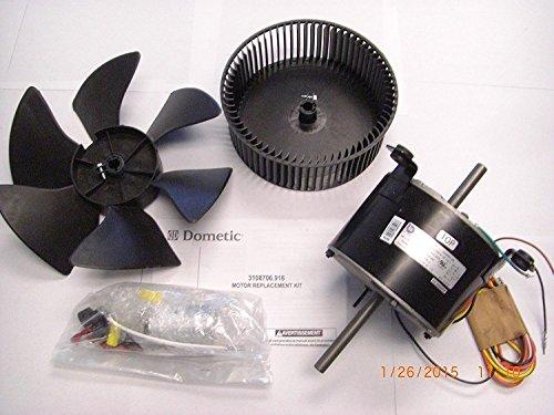 Dometic 3108706.916 Motor Brisk Air Kit, Black