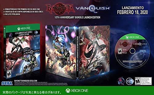Bayonetta & Vanquish 10th Anniversary Bundle: Launch Edition - Xbox One