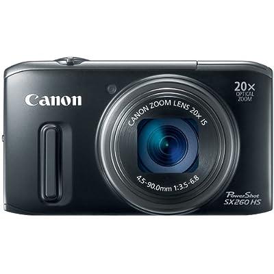 sx260 hs canon camera