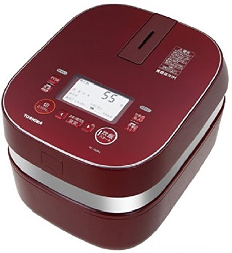 Toshiba vacuum IH rice cookers (cook 5.5 Go) Gran Red charcoal stove this Hagama (vacuum IH warm kettle) RC-10ZPH-R