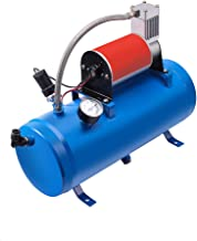 Train Horns Kit Air System 150 Psi With 12vdc air compressor Air Horn Kit of Compressor with Portable Air Tank 6 Liters And Train Horn kit For Trucks