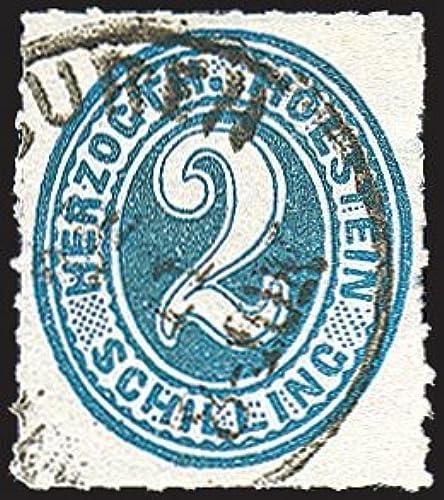 Goldhahn Schleswig-Holstein Nr. 24 gestempelt Briefmarken für Sammler