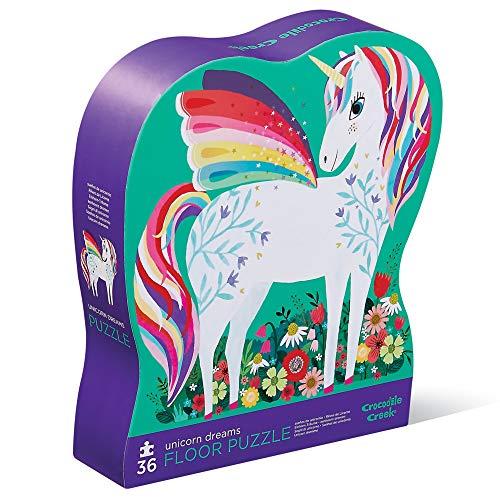 CROCODILE CREEK CC-3840775 - Puzle de 36 piezas de los unicornios (Juguete)