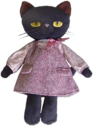 Minou Plush Doll (M) NEW Rosa dress (japan import)