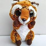 ZZXXB Oxidada del Mapache 15cm Suaves Juguetes de Peluche Animales Rellenos de algodón PP del bebé Juguetes for niños Ojos Grandes Judith