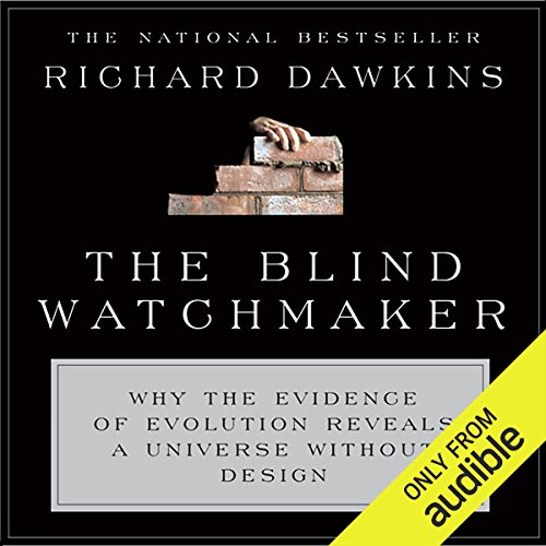 The Blind Watchmaker      Why the Evidence of Evolution Reveals a Universe Without Design               Autor:                                                                                                                                 Richard Dawkins                               Sprecher:                                                                                                                                 Richard Dawkins,                                                                                        Lalla Ward                      Spieldauer: 14 Std. und 40 Min.     73 Bewertungen     Gesamt 4,8