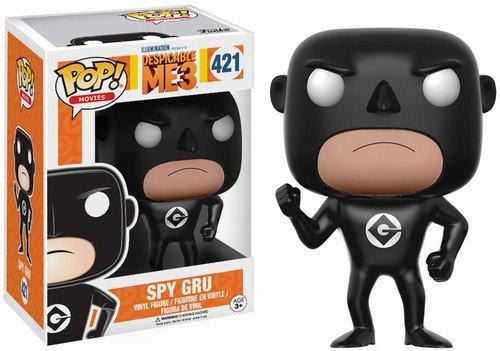 Funko 13429 - Spy Gru figura de vinilo, coleccion de POP, seria Despicable Me 3, surtido: colores aleatorios (blanco/negro)