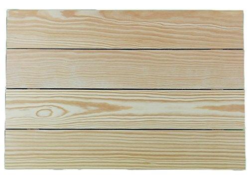 Tabla de madera. En pino, para pintar. Ideal para decoración y manualidades. Medidas: 60 * 40 cm.