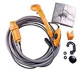 LIEBMAYA 12V car cigarette lighter Portable shower electrical pump for Outdoor Camping Car washing dog...