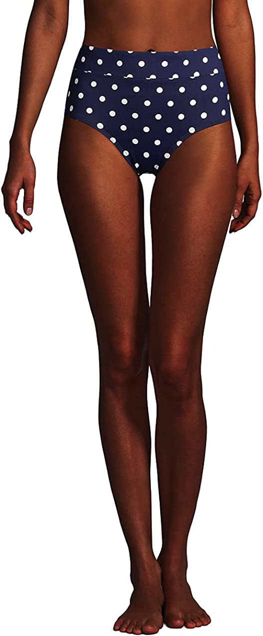 Lands' Bombing new National products work End Women's Tummy Control Bottoms Bikini Waisted High