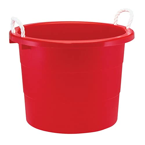 Round Plastic Tubs Amazon Com
