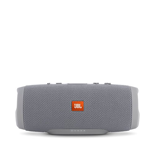 JBL Charge 3 Waterproof Portable Bluetooth Speaker (Gray)