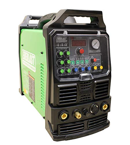 2021 Everlast PowerPro 256Si AC DC TIG Pulse 60a 250a Plasma Cutter Multi Process Welder